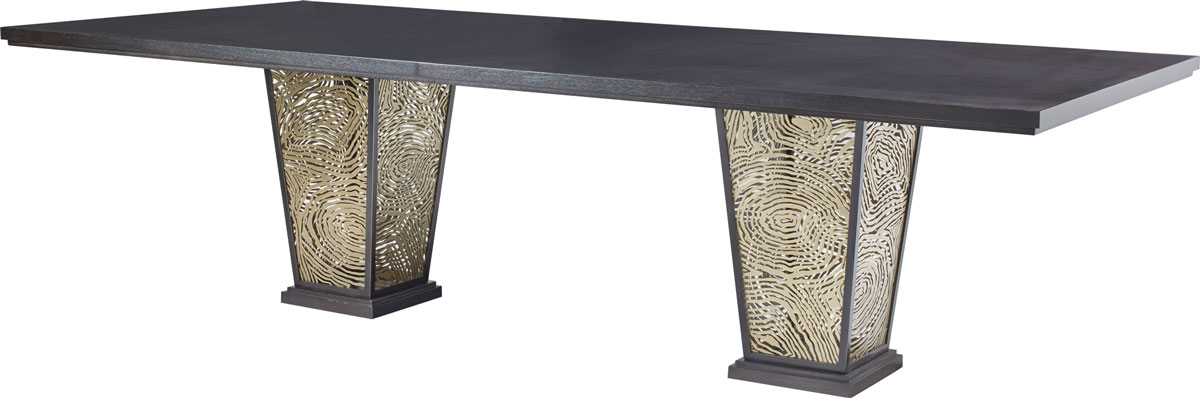AGATE RECTANGULAR DINING TABLE