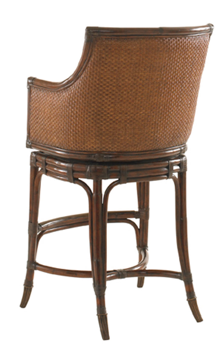 OCEANA SWIVEL BAR STOOL