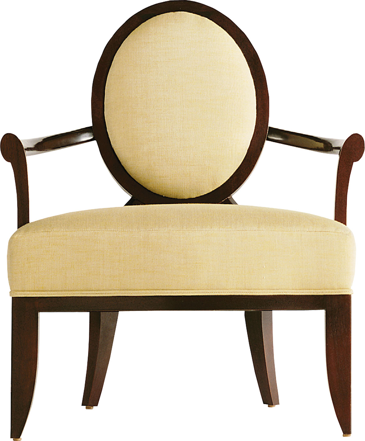 OVAL X-BACK CHAIR