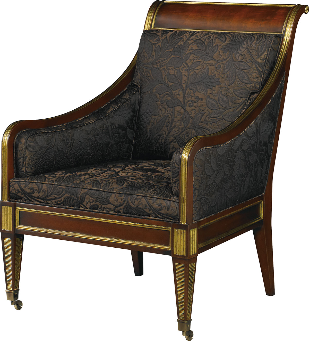 RUSSIAN REGENCY OCCASIONAL CHAIR