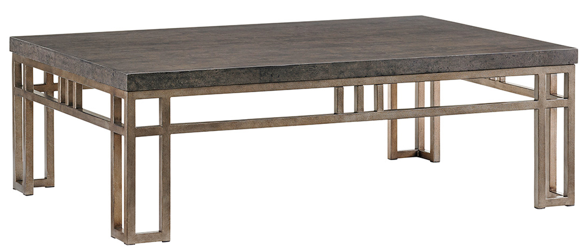 MONTERA TRAVERTINE COCKTAIL TABLE