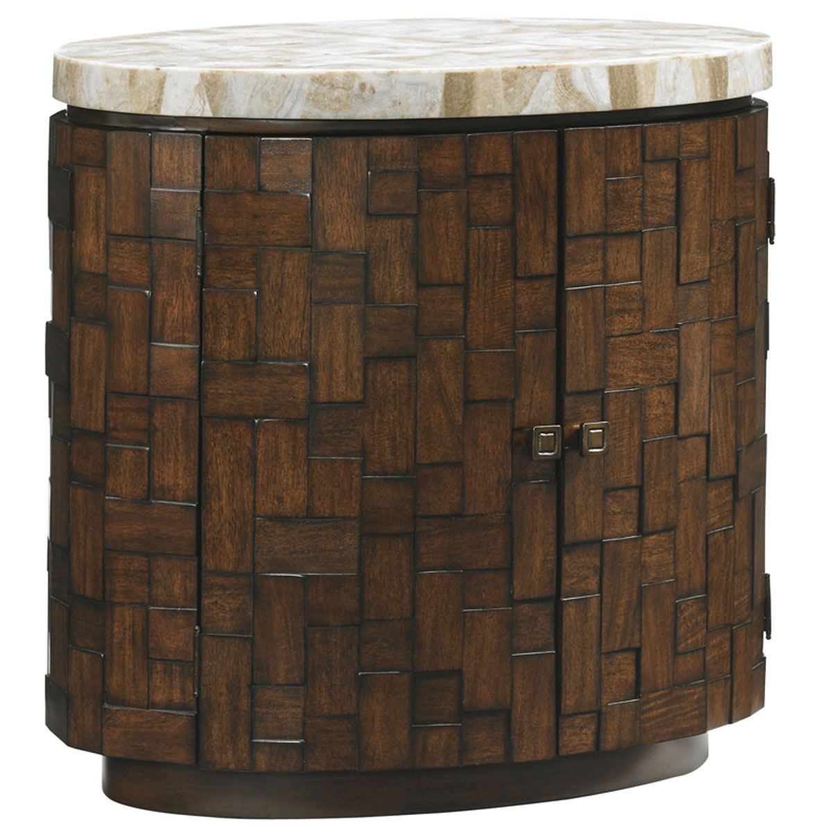 BANYAN OVAL ACCENT TABLE