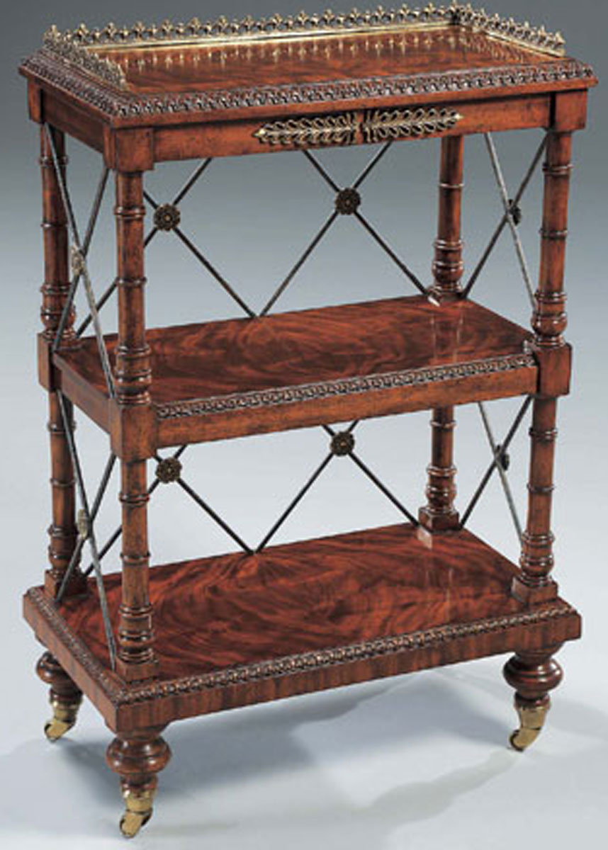 Regency Fınıshed Mahogany George IV Bookcase