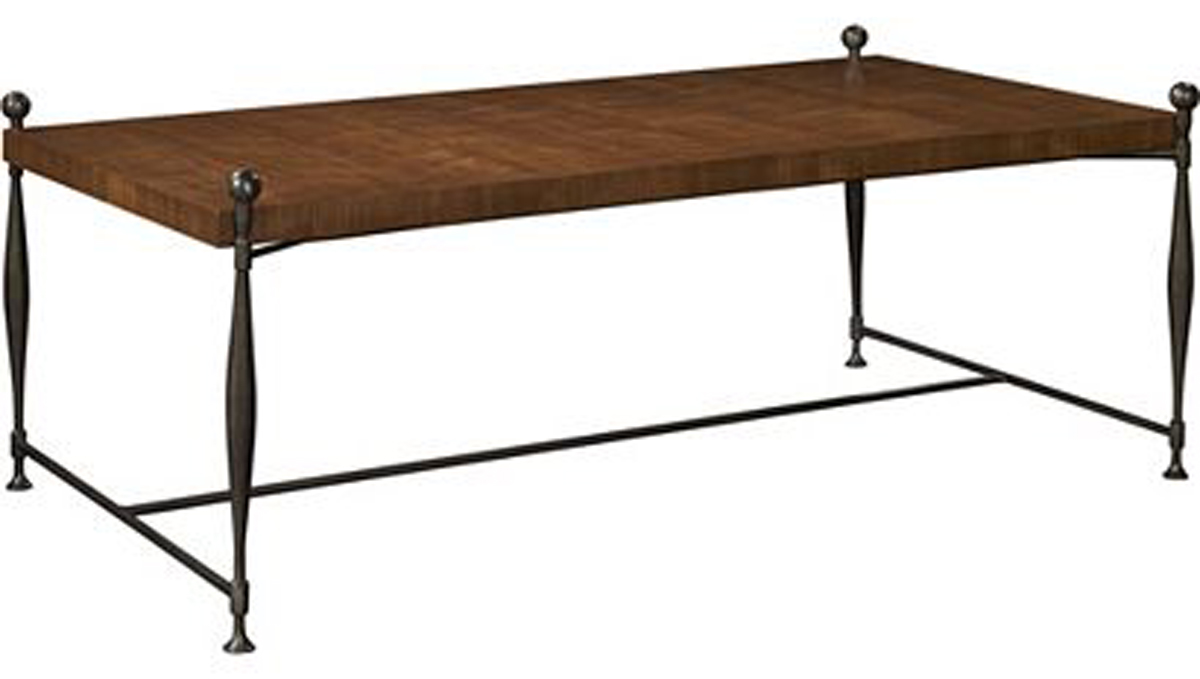 Ionıa Coffee Table wıth Wood Top