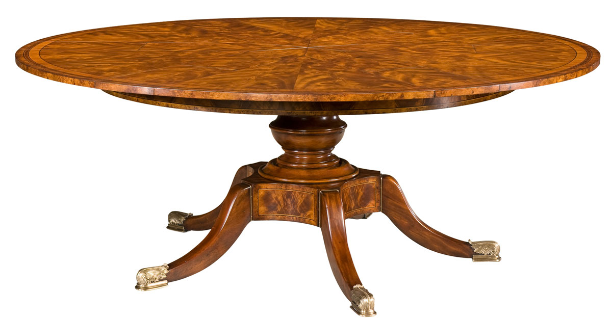 The Althorp Patent Jupe Table