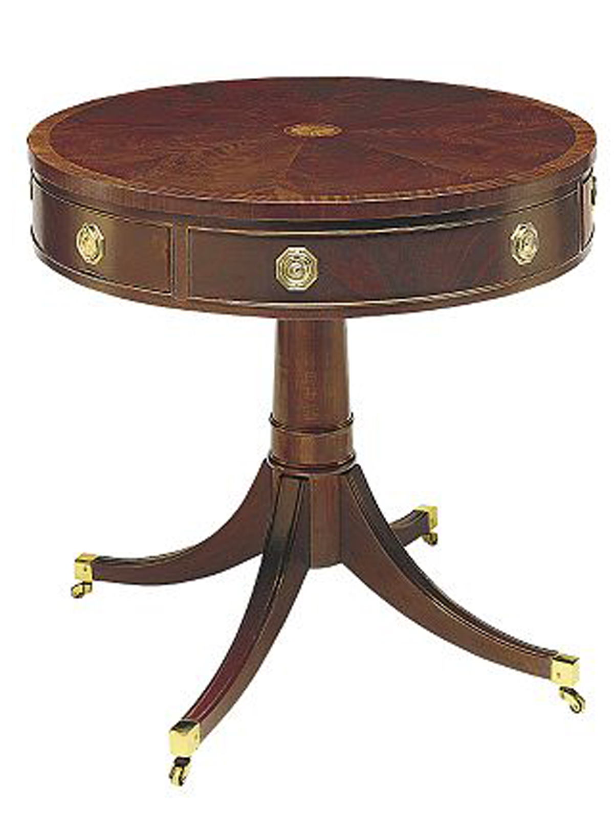 Pedestal Drum Table