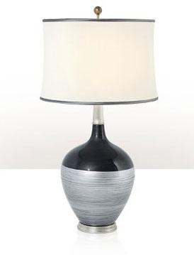 Sılvered Shımmer Lamp