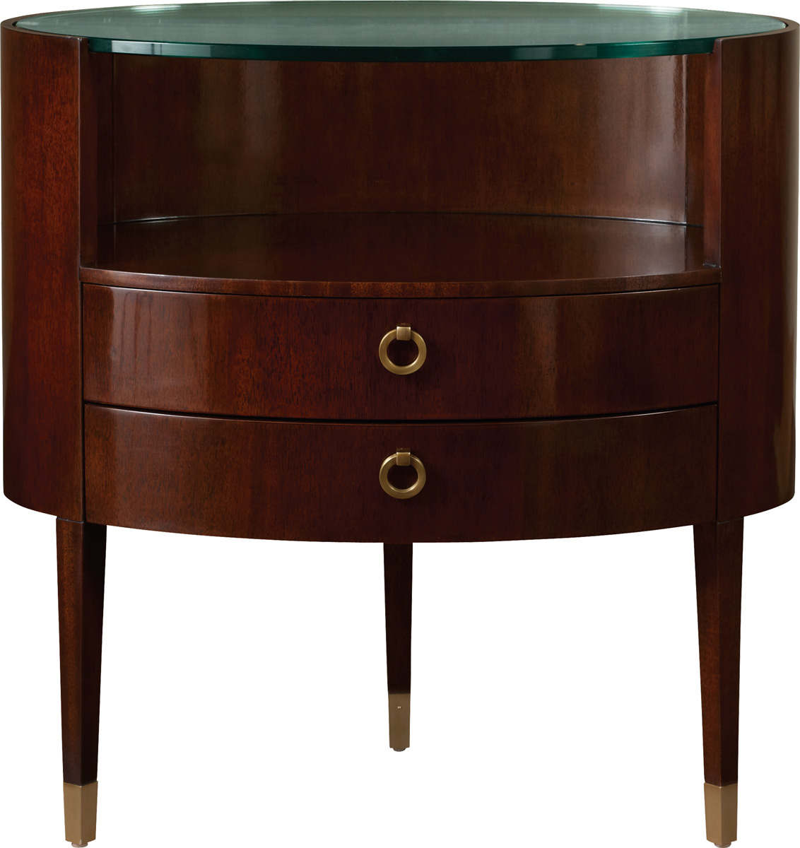OVAL NIGHT TABLE