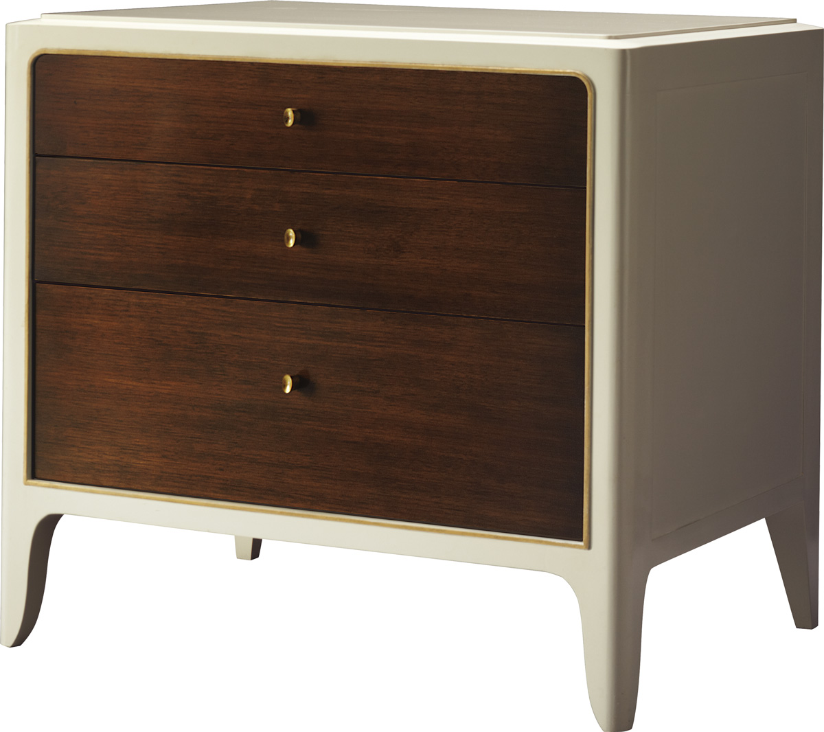 SOFT CORNER BEDSIDE CHEST