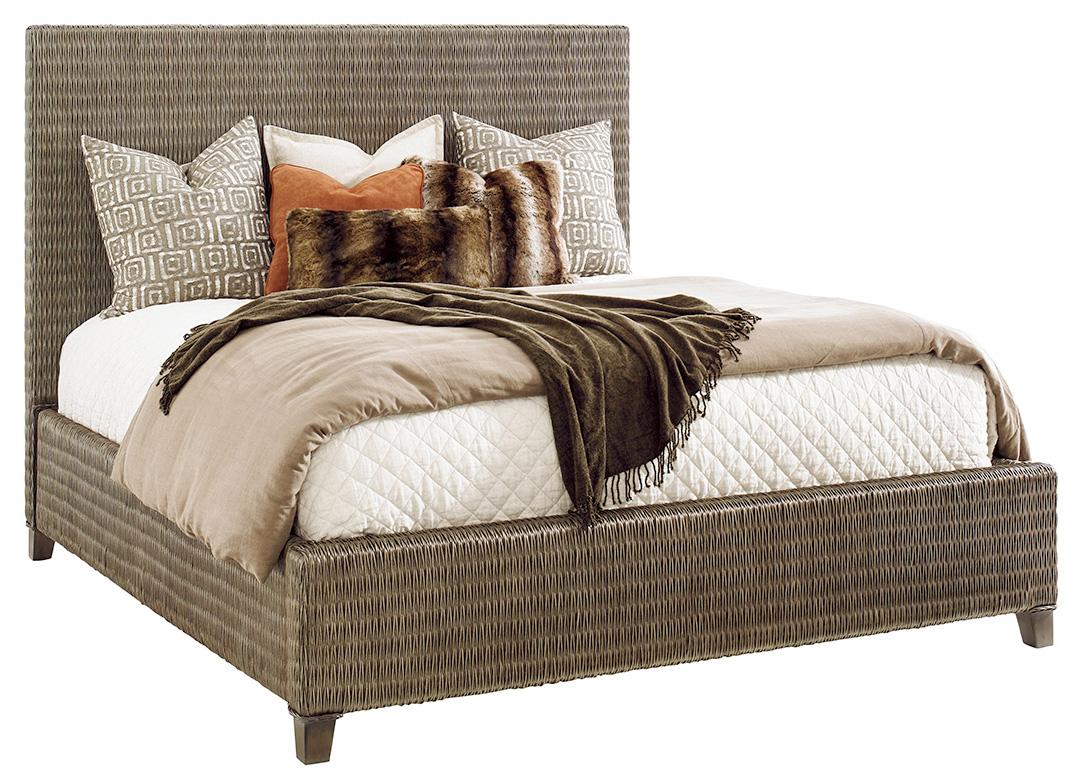 WOVEN PLATFORM BED