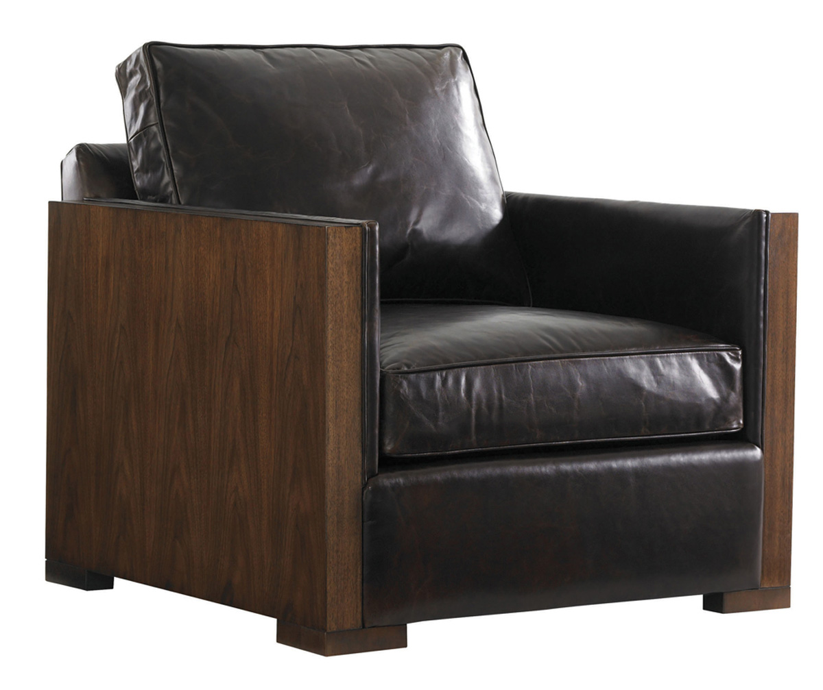 EDGEMERE LEATHER CHAIR