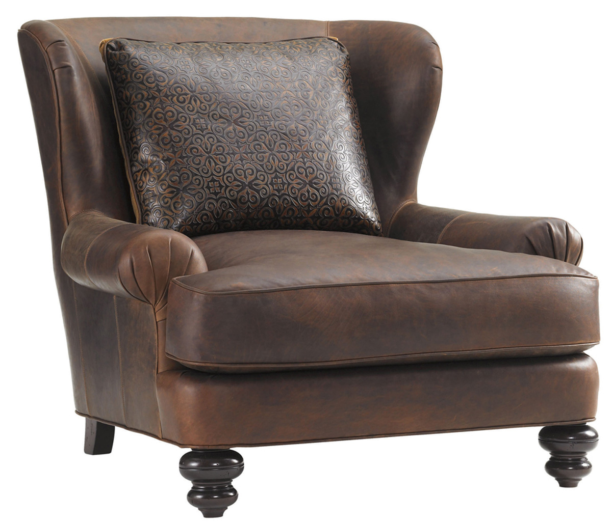KENT LEATHER CHAIR