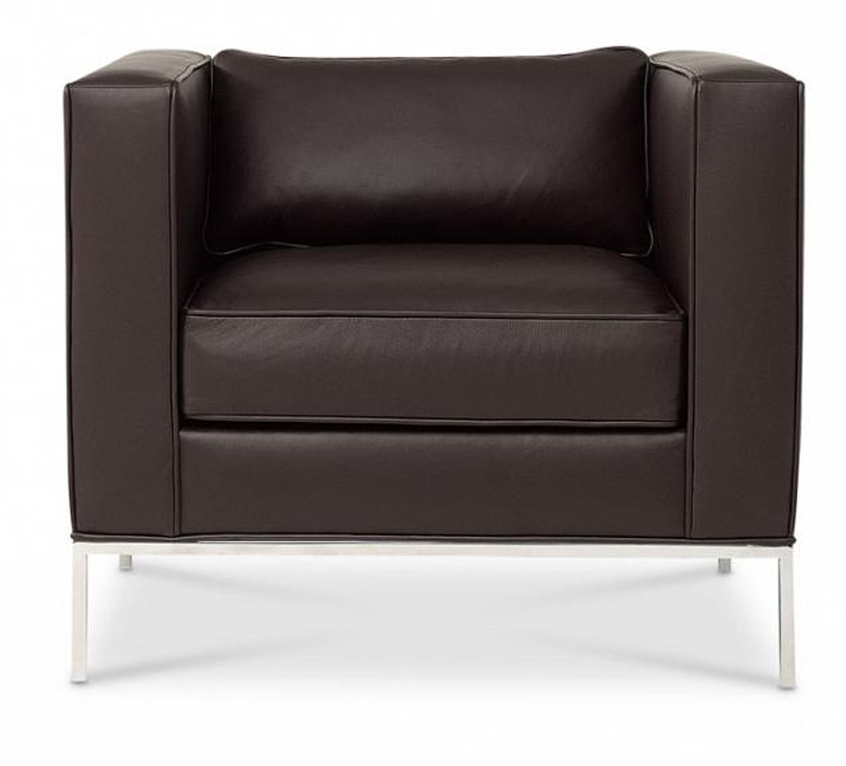 Domicile Tufted Square Lounge Chair
