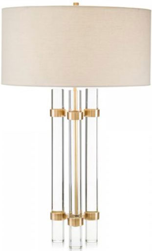 Glass Rod Table Lamp