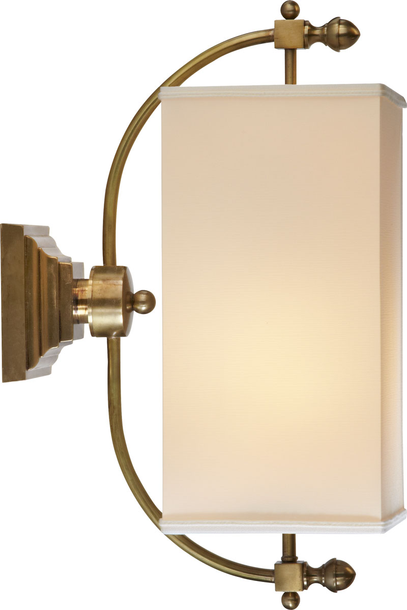 LYRE SCONCE