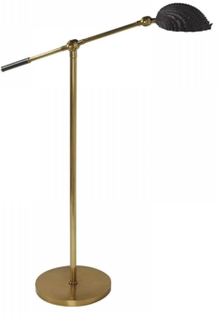 Soft Fınıshed Brass Floor Lamp