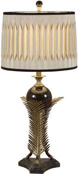 Antıque Brass Fınıshed Leaf Table Lamp