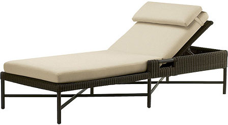 OUTDOOR SINGLE CHAISE