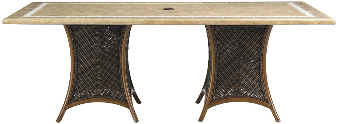 DBL PEDESTAL TABLE BASE
