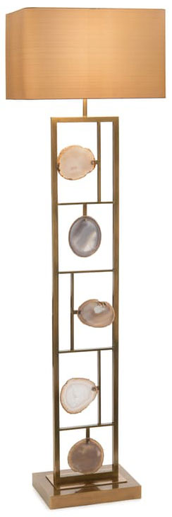 Agate Panel Floor Lamp
