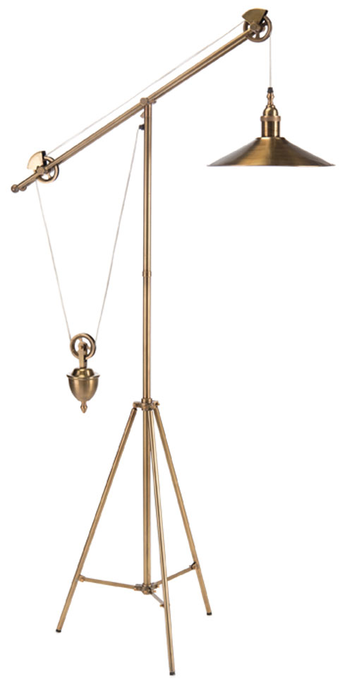 Pulley Task Floor Lamp