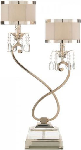Two-Lıght Curly Lamp