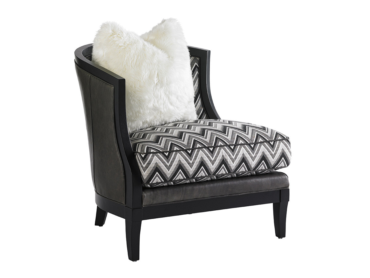 GARLAND LEATHER CHAIR